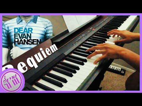 """""""Requiem"""" - Dear Evan Hansen    [Piano Karaoke Instrumental Cover]"""