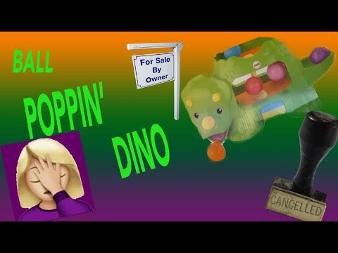 Fisher Price Double Poppin' Dino Review| SAVE YOUR MONEY!