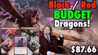 mtg standard b r dragons a budget deck tech for magic the gathering