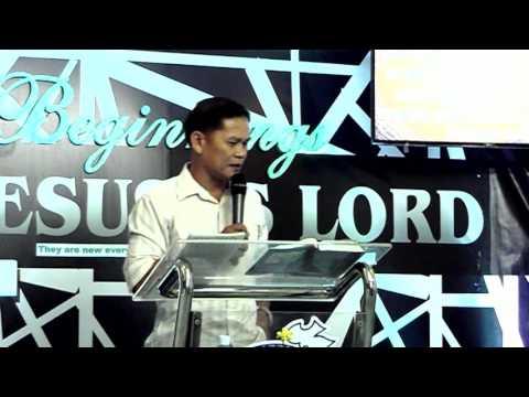 - 1st Service Preacher : Pastor Robert Torda  Date : June 25, 2017 Place : JIL Phase 3D