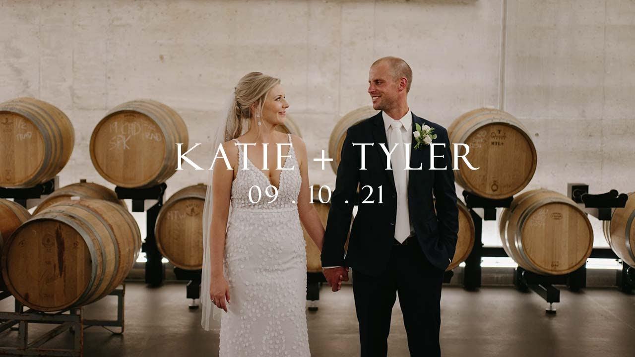 Katie + Tyler . Darkhorse Estate Winery Wedding Film