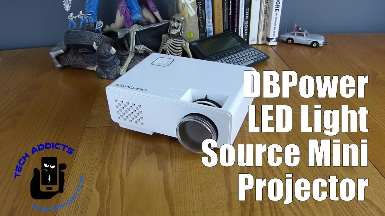 Dbpower Led Light Source Mini Projector Unboxing Youtube
