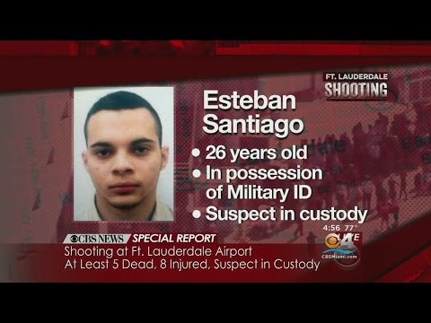 More Information on Ft. Lauderdale-Hollywood International Airport Shooting Suspect