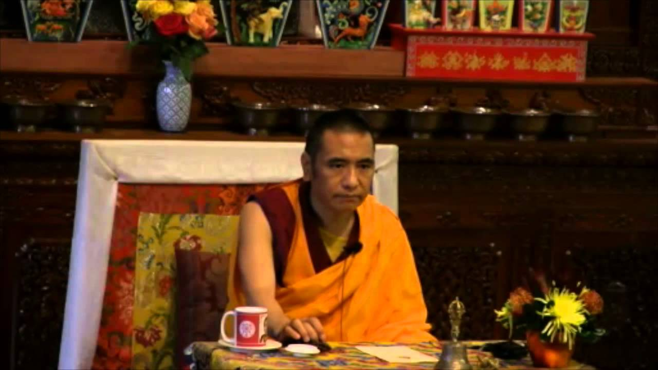 """The Process of Death and Dying"""" by Geshe Ngawang Phende - YouTube"""