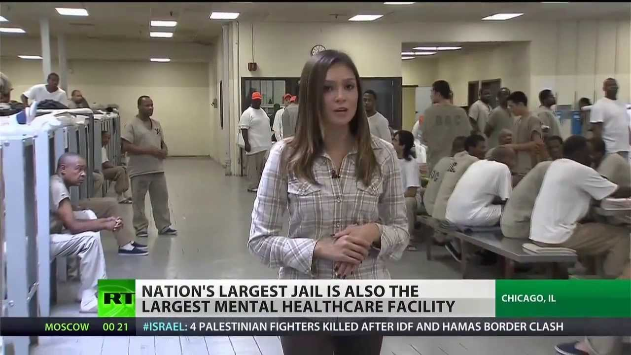 three largest mental health care providers are jails - 1280×720