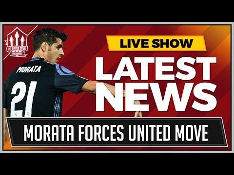 MORATA Forces MAN UNITED Transfer! MAN UTD Transfer News