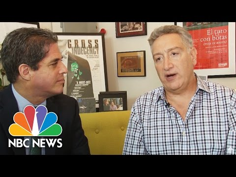 Playwright Moisés Kaufman On Growing Up Gay In Orthodox Jewish Venezuelan Home | NBC News