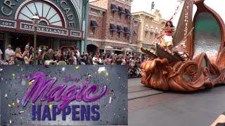 Magic Happens Parade - Disneyland