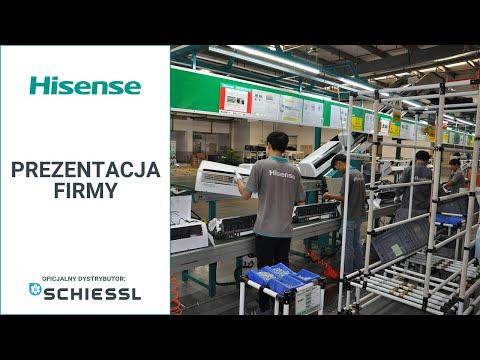 Hisense - prezentacja firmy