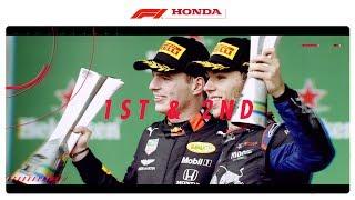 P1 & P2 In Brazil | Powered By Honda | Honda Racing F1