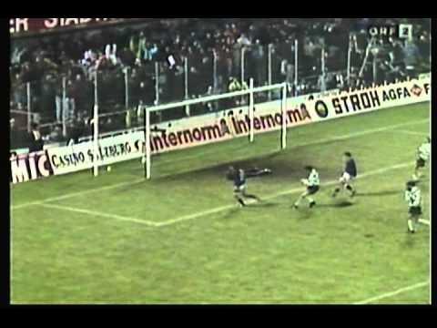 1993 December 7 Salzburg Austria 3 Sporting Lisbon Portugal 0 UEFA Cup