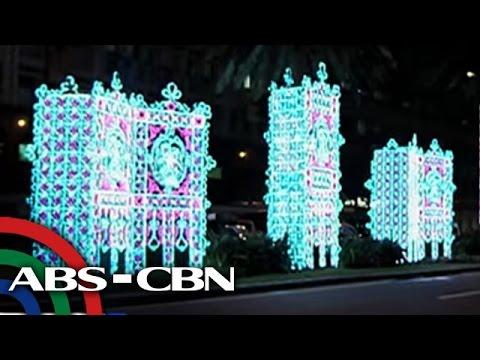 Bandila: Christmas lights, pinailawan sa Makati City