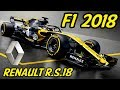 F1 Renault R.S.18 Analysis - Lets Talk F1 2018