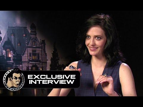 "Eva Green interview ""Mary Poppins on speed"" - Miss Peregrine's Home for Peculiar Children"