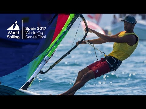 Full RS:X M Live Medal Race from the World Cup Series Final in Santander