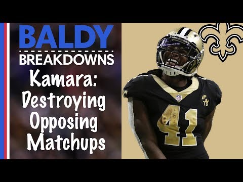 Why Alvin Kamara is the Toughest Matchup in the NFL | Baldy Breakdown