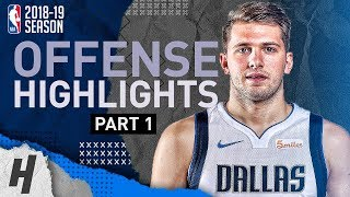 Luka Doncic BEST Offense Highlights from 2018-19 NBA Season! Defense Included (Part 1)