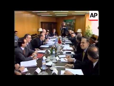 TURKEY: GREECE TO PRESS FOR TURKISH MEMBERSHIP OF E-U