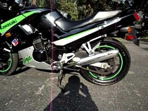 2005 Kawasaki Ninja 250 - YouTube
