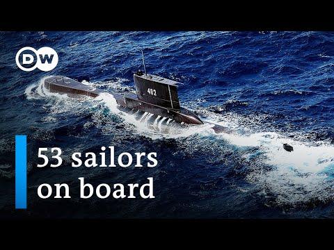 Indonesia declares missing submarine a 'sunken vessel' | DW News |