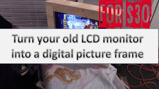 Convert your old LCD computer …