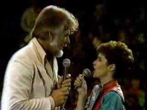 Kenny Rogers and Sheena Easton