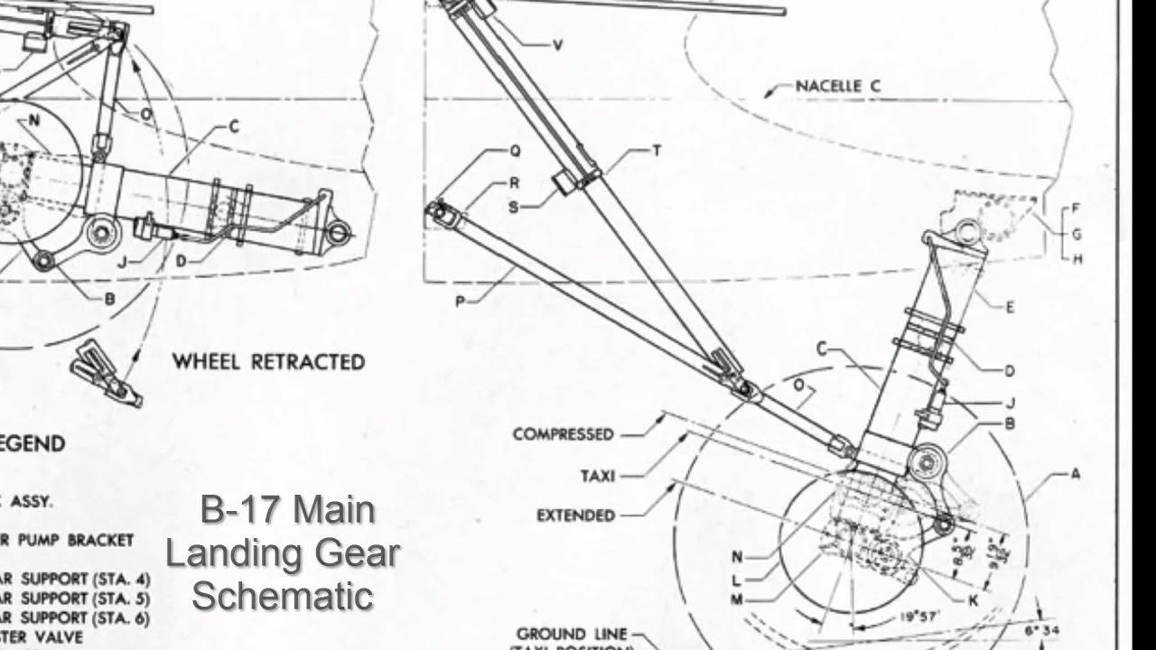 B 17 Main Landing Gear Retraction In Autodesk Force Effect