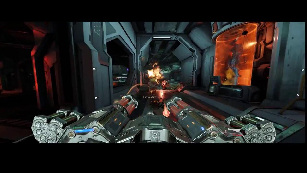 Doom Chaingun Upgrade Mobile Turret Youtube