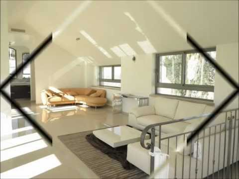 Breathtaking penthouse for rent in Talbieh -- 4.5 rooms