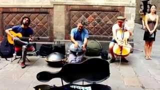 Warm Spanish Music in Barcelona