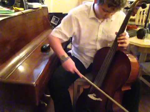 Ludovico einaudi lady labyrinth cello cover by Kenan broadway