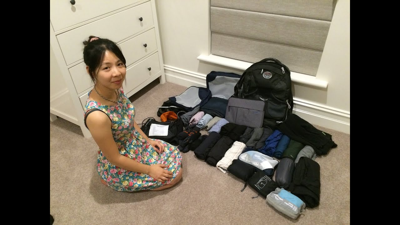 How to pack an 8kg Carry-on for Long-term Travel?