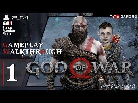 God of War - Chapter 1: The Marked Trees | Daudi Kaupmadr BOSS | Walkthrough Gameplay | Part 1/2