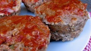 Mini Meatloaf Muffins | One Pot Chef