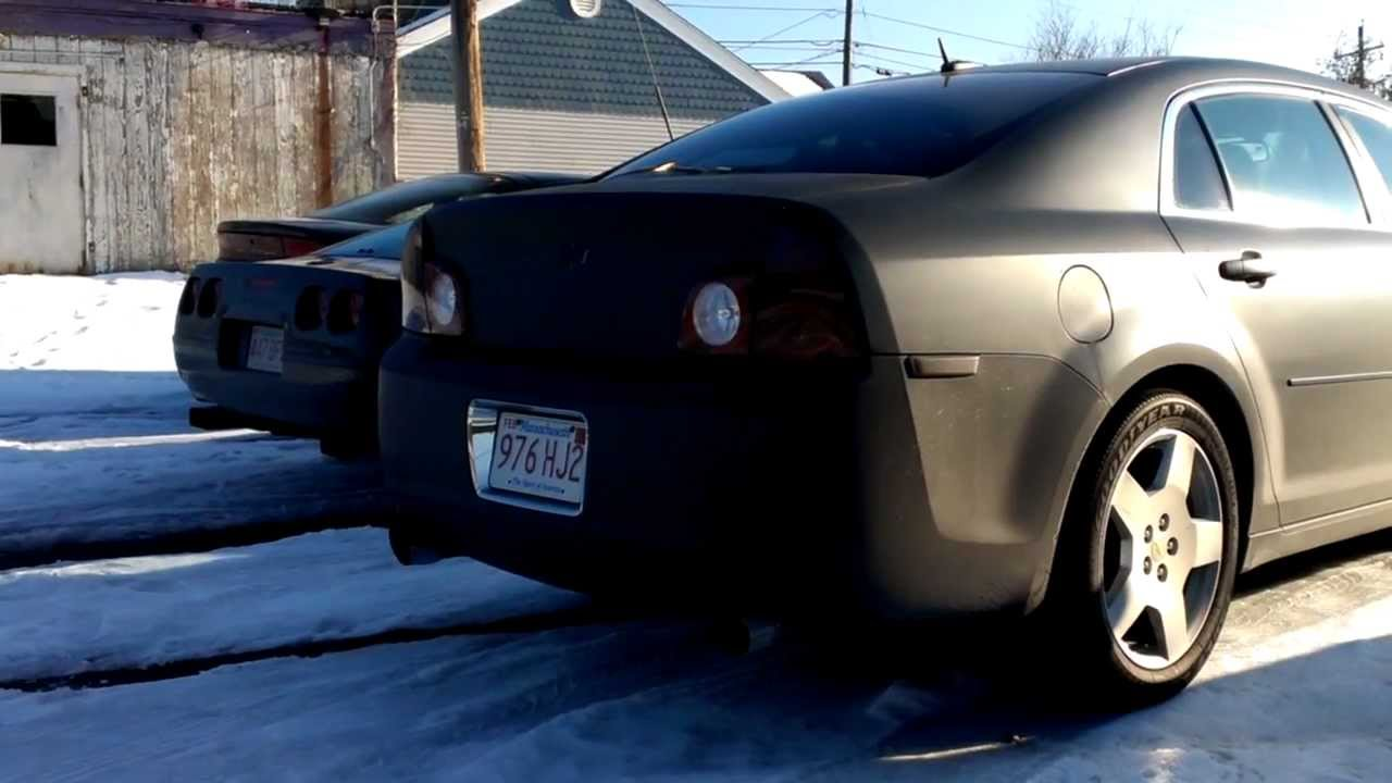 2008 Chevy Malibu Borla Exhaust Revving Youtube