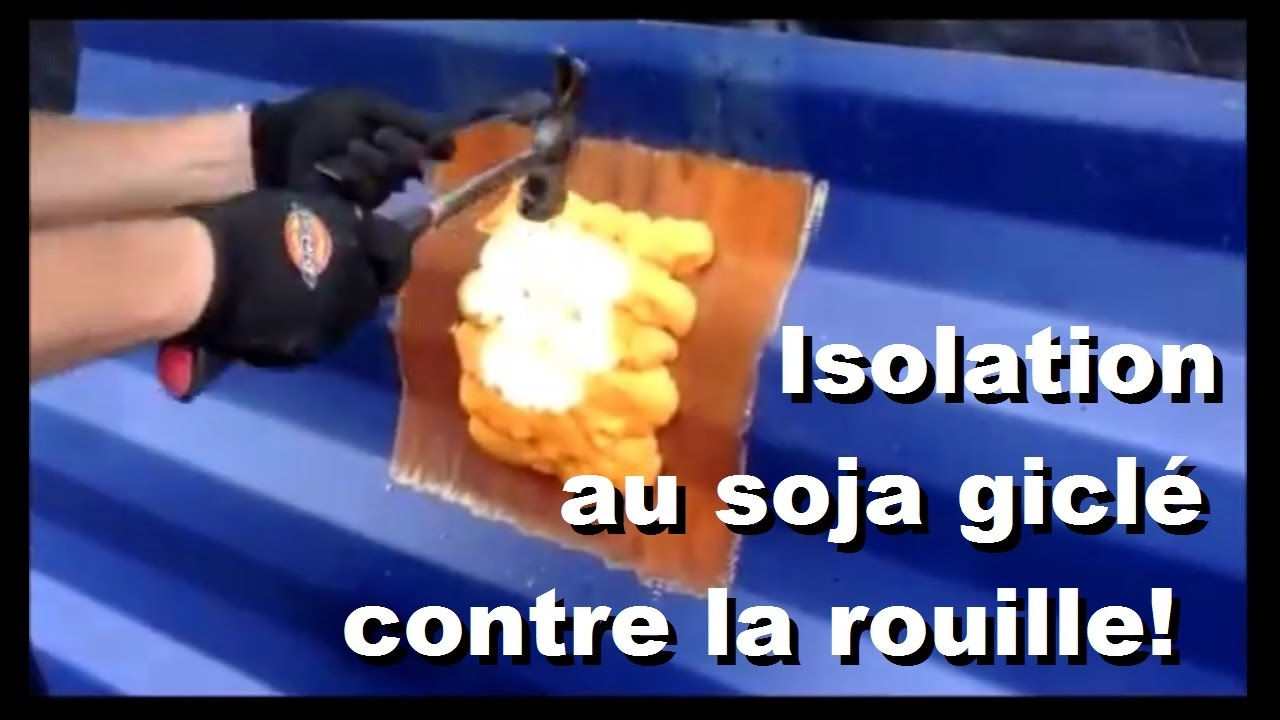 Comment isoler sa maison conteneur isolation vs la rouille youtube - Comment isoler sa maison ...