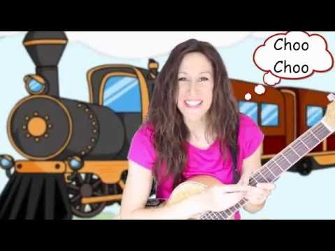 Choo Choo Train Children's Song | Vehicle Song | Movement Song | Count to 20 | Patty Shukla