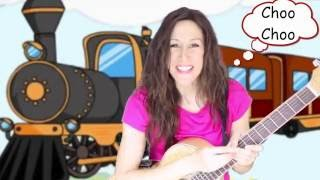 Choo Choo Train | Lyrics | Movement Song | Children Counting Song | Patty Shukla