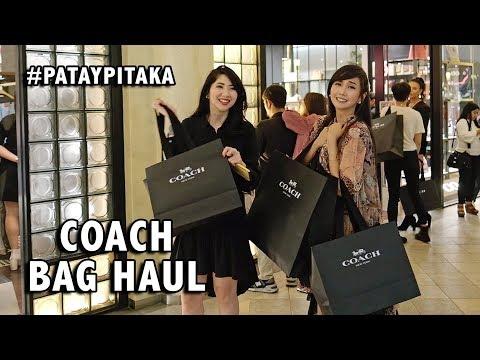 COACH BAG HAUL!!