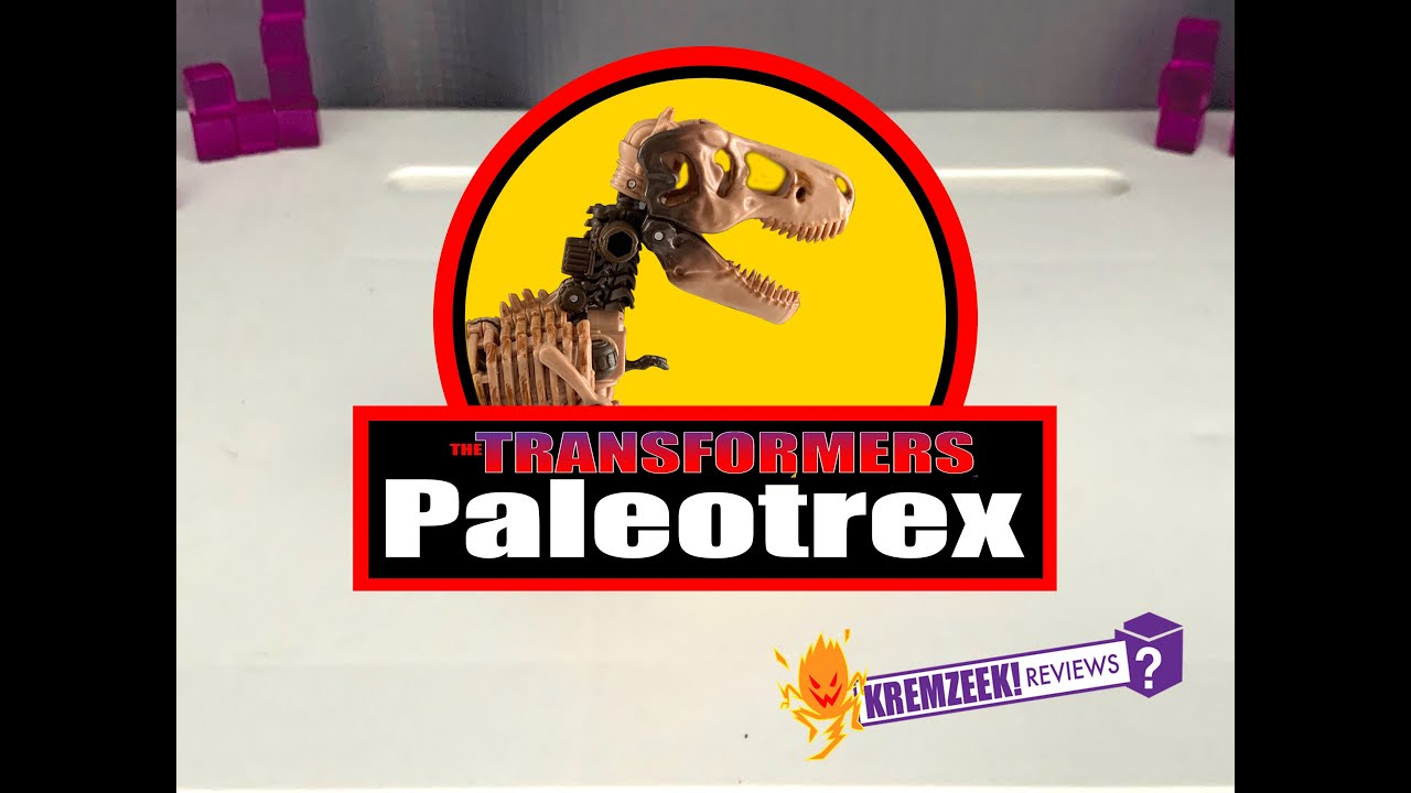 Transformers WFC Kingdom Fossilizer Paleotrex by  Kremzeek Reviews