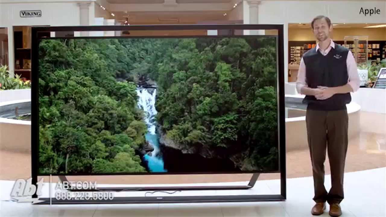 samsungs largest tv 110 inch 3d uhd 4k led smart. Black Bedroom Furniture Sets. Home Design Ideas
