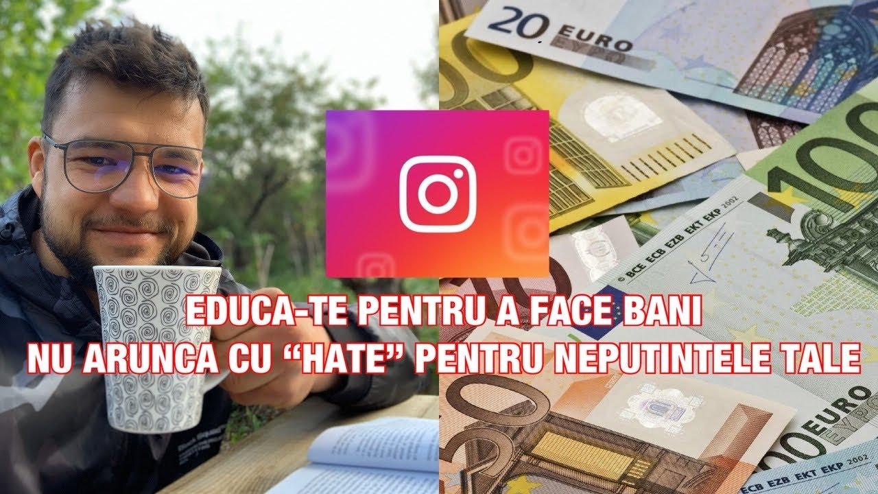 cum să faci bani instagram