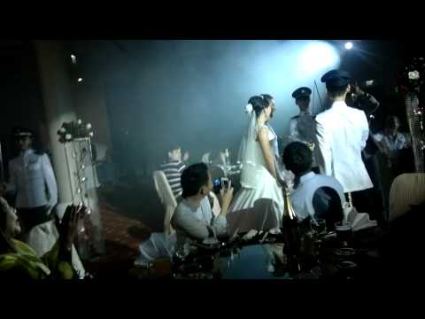 Shamir & Feline 17 Jun 12 - Military Wedding Marchin