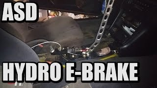 How to Install An ASD Hydro E-Brake