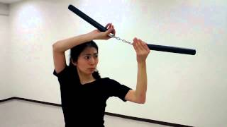 Nunchaku Technique Practice