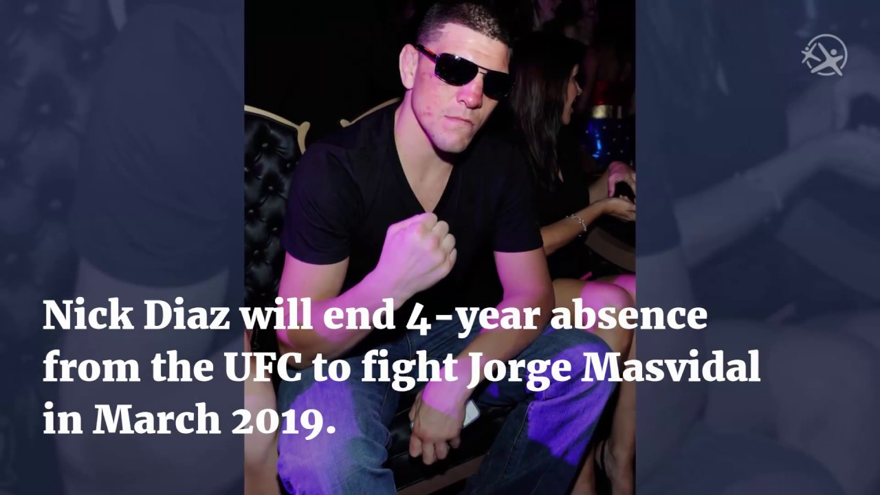 Nick Diaz will return to fight Jorge Masvidal
