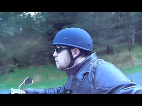 Motorcycle Helmets Dot >> Beanie Helmet by AKOURY Review AK-1 - YouTube