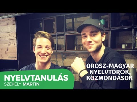 Orosz-magyar nyelvtörők, közmondások ft. X-Faktor Dmitrij
