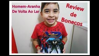 Review de Bonecos Homem Aranha De Volta Ao Lar