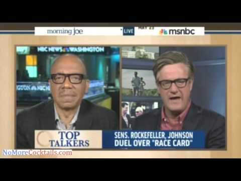 """Eugene Robinson: Jay Rockefeller Saying Obamacare Opposition Due To GOP Racism Is """"Objectively True"""""""